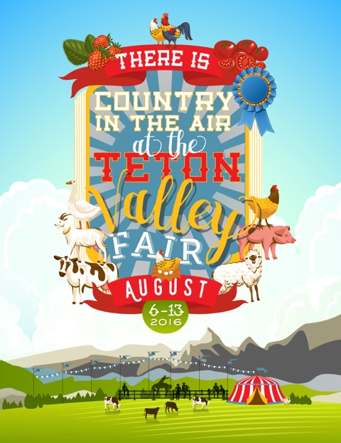 There is County in the Air at the Teton Valley Fair - August 6-13, 2016
